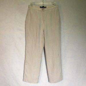 Josephine Chaus Lined Linen Blend Pants
